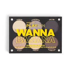 INGLOT PlayInn WANNA BANANA Eye Shadow Palette