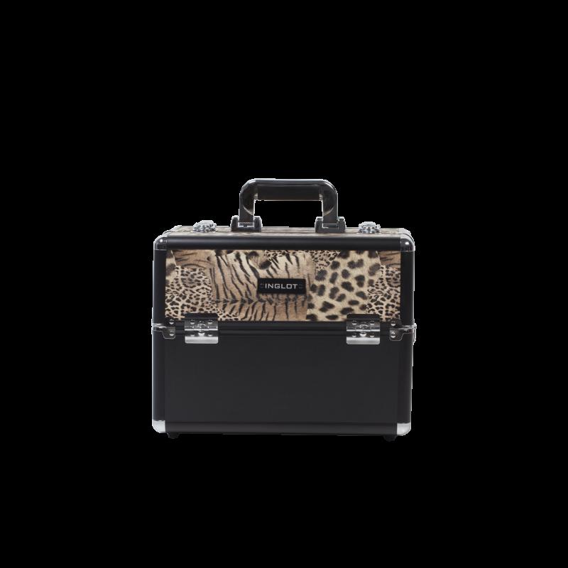 Valigia porta trucchi con fantasia leopardata (KC-156-LP)