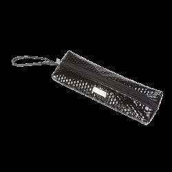 Piórnik kosmetyczny czarny S (R24006)