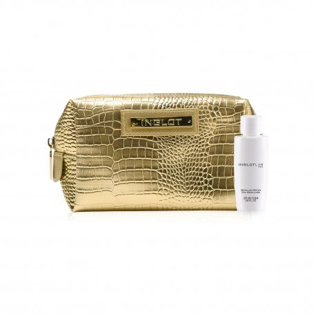 COSMETIC BAG AND TRAVEL SIZE MICELLAR WATER