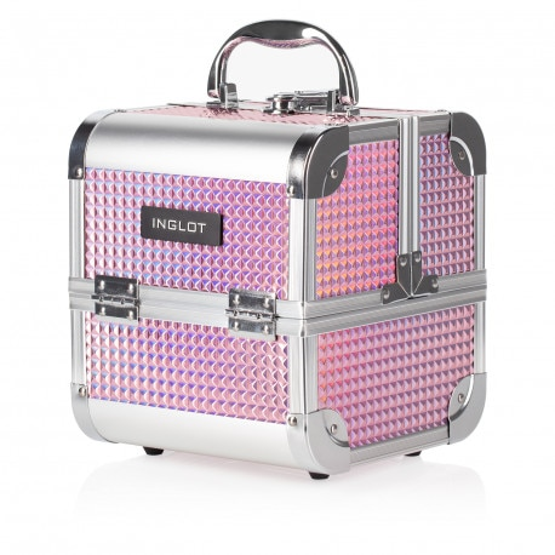 Makeup Case Ice Cube Mini ROaSA OLOGRAFICO (MB152M K105-9H)